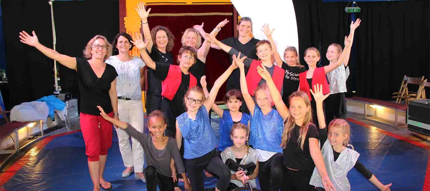 Zirkus an Grundschulen