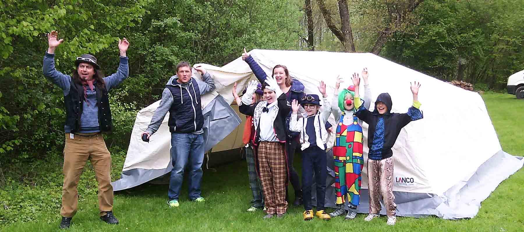 Zelte für den Stadtjugendring Rosenheim