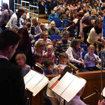 Über 600 Kinder kamen insgesamt zu der Aufführung im März 2018.