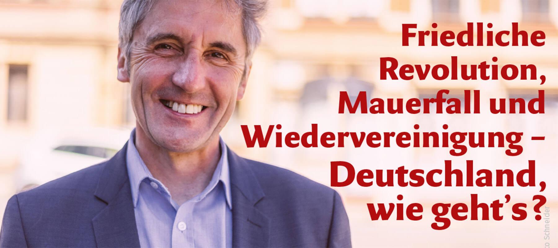 Einladung zum Rosenheimer Gespräch mit Frank Richter