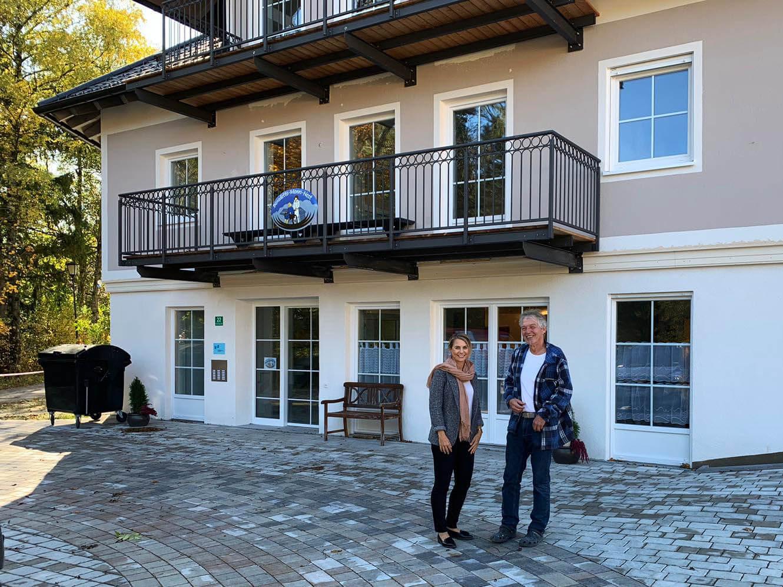 """Die neue Betreuungseinrichtung des Vereins """"Benedetto-Menni-Nest"""" in Aschau ist im Sommer 2019 eröffnet worden."""