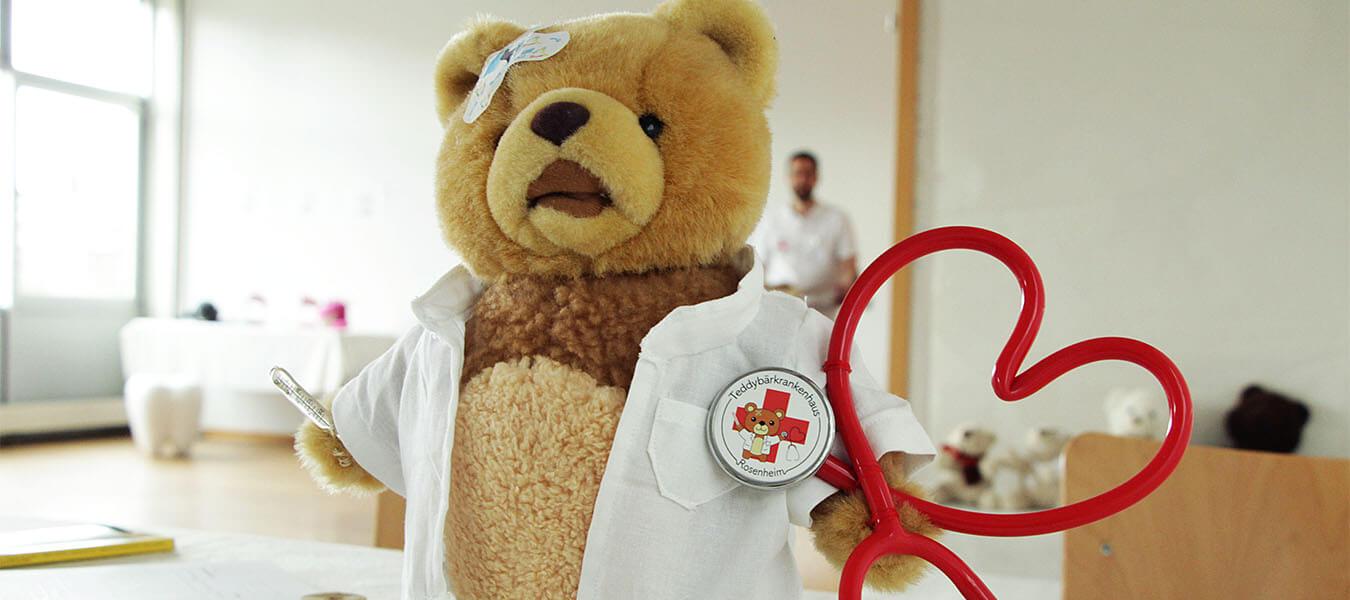 Das Teddybär-Krankenhaus - diesmal digital!